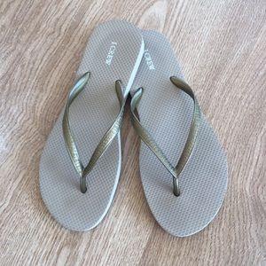 J. Crew Flip Flop Sandals sz 8